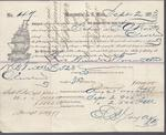 The Washington Iron Company to S. A. Wood, Bill of Lading