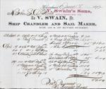 V. Swains Sons to S. A. Wood, Accounts