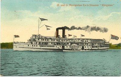 "R. and O. Navigation Co.'s Steamer ""Kingston"""