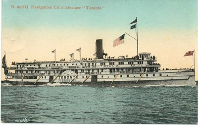 "R. and O. Navigation Co.'s Steamer ""Toronto"""