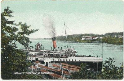 "Steamer ""Chippewa"" at Queenston"