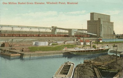 One Million Bushel Grain Elevator, Windmill Point, Montreal