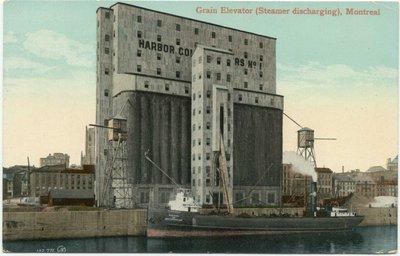 Grain Elevator (Steamer Discharging), Montreal
