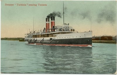"Steamer ""Turbinia"" nearing Toronto"