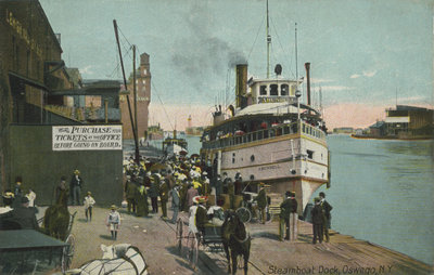 Steamboat Dock, Oswego, N. Y.