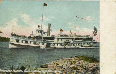 Thousand Island, Steamer St. Lawrence Folger Line