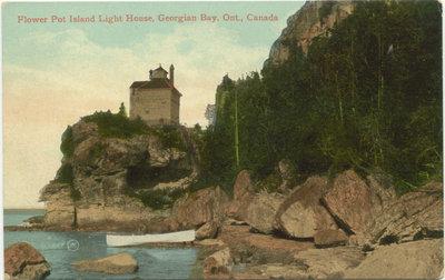 Flower Pot Island Light House, Georgian Bay, Ont., Canada