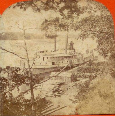 Steamer [New] York at Lewiston