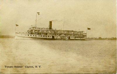 Toronto Steamer, Clayton, N. Y.