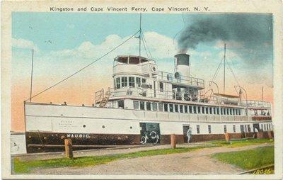Kingston and Cape Vincent Ferry, Cape Vincent, N. Y.
