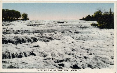 Lachine Rapids, Montreal, Canada