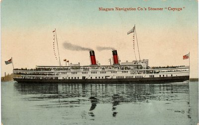 Niagara Navigation Co.'s Steamer Cayuga