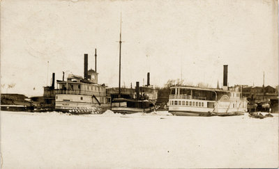 In Winter Quarters, Deseronto, Ont.