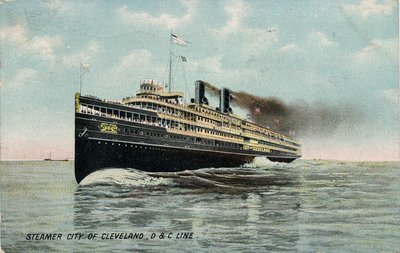 Steamer City of Cleveland, D & C Line