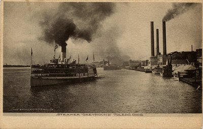 "Steamer ""Greyhound"" Toledo, Ohio"