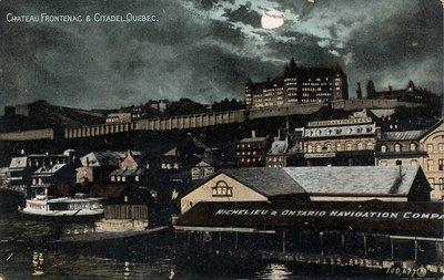 Chateau Frontenac & Citadel Quebec.