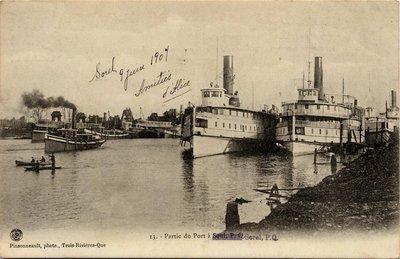Partie du Port à Sorel, P. Q.