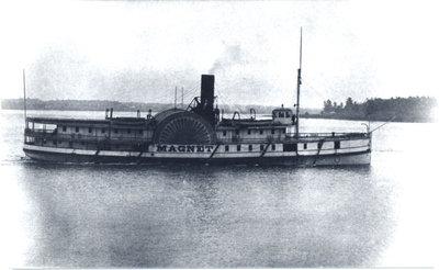 Steamer MAGNET