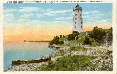 Wind Mill Light, (Site of Partriots' Battle, 1837,) Prescott, Canada, opposite Ogdensburg