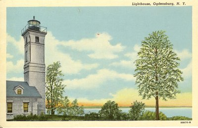Lighthouse, Ogdensburg, N. Y.