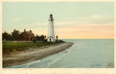 Gratiot Light, Ste. Clair River