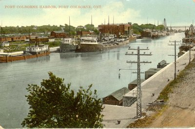 Port Colborne Harbor, Port Colborne, Ont.