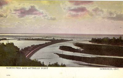 North Pier and Attrills' Point, Goderich, Ont.