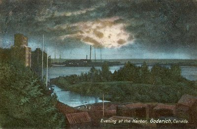Evening at the Harbor, Goderich, Canada