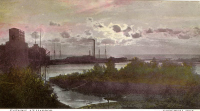 Evening at Harbor, Goderich, Ont.