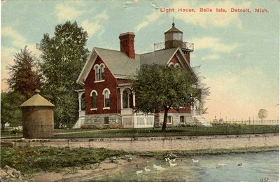Light House, Belle Isle, Detroit, Mich.