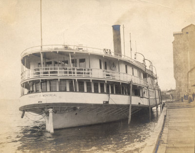 River Steamer, St. Lawrence River, Prescott, Ont.