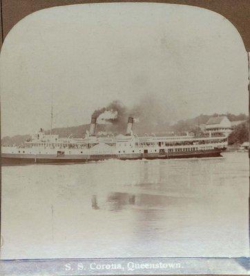 S. S. Corona, Queenstown