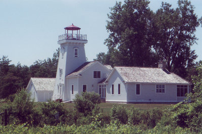 Lighthouse at Long Point Cut