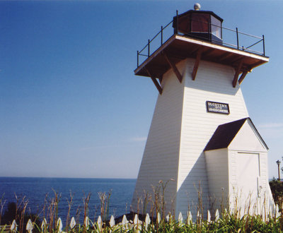 Reproduction of the Olcott lighthouse