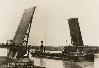 Open Bridge, Welland Ship Canal