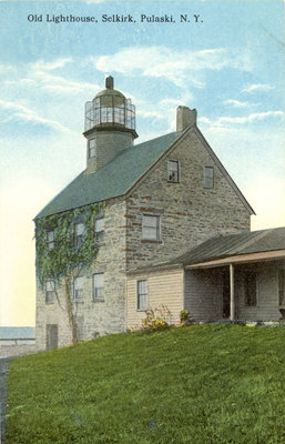 Old Lighthouse, Selkirk, Pulaski, N.Y.