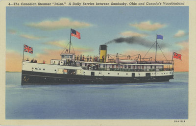 "The Canadian Steamer ""Pelee"""