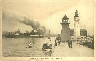 Harbor Entrance, Buffalo, N.Y.