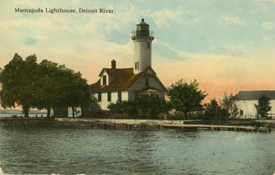 Mamajuda Lighthouse, Detroit River