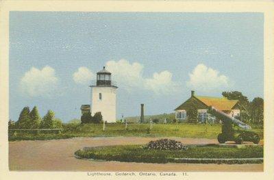 Lighthouse, Goderich, Ontario, Canada