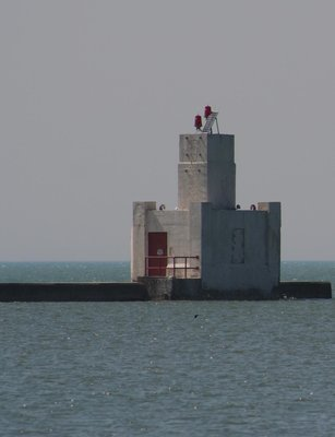 Goderich South Pier light