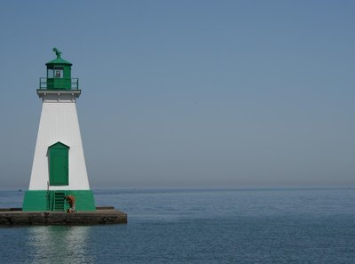 Outer range light at Port Dalhousie