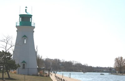 Inner range light at Port Dalhousie