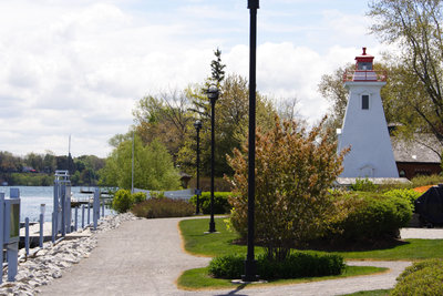 Rear range light at Niagara-on-the-Lake