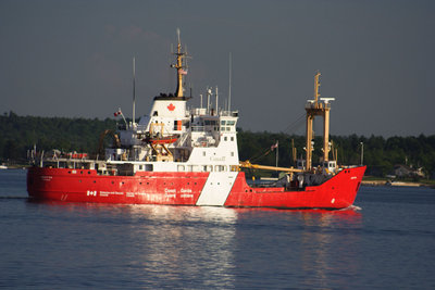 CCGS GRIFFON in the Thousand Islands
