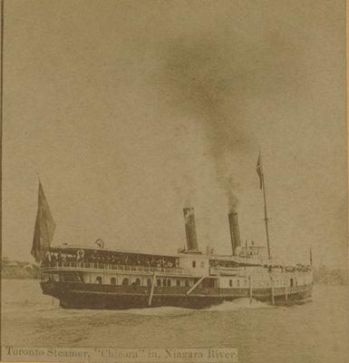 "Toronto Steamer, ""CHICORA"" in Niagara River"