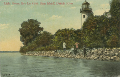 Light House, Bob-Lo (Bois Blanc Island) Detroit River