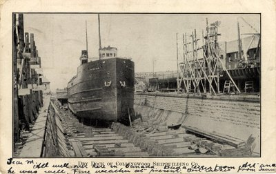 Dry Dock of Collingwood Shipbuilding Co.