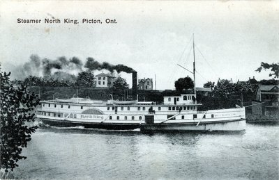 Steamer North King, Picton, Ont.