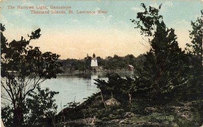 The Narrows Light, Gananoque, Thousand Islands, St. Lawrence River
